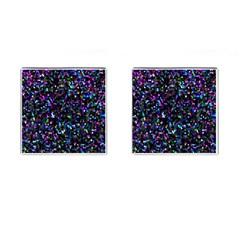 Glitter 1 Cufflinks (Square)