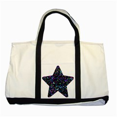 Glitter 1 Two Toned Tote Bag