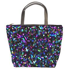 Glitter 1 Bucket Handbag