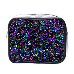 Glitter 1 Mini Travel Toiletry Bag (one Side)