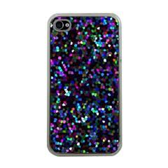 Glitter 1 Apple Iphone 4 Case (clear)