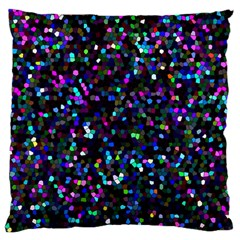 Glitter 1 Large Cushion Case (two Sided)