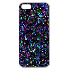 Glitter 1 Apple Seamless iPhone 5 Case (Clear)