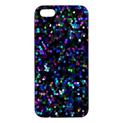 Glitter 1 iPhone 5 Premium Hardshell Case