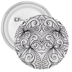 Drawing Floral Doodle 1 3  Button