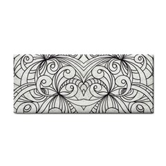 Drawing Floral Doodle 1 Hand Towel