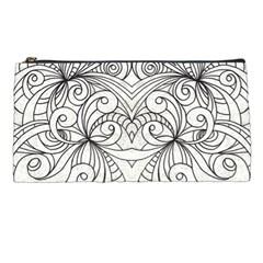 Drawing Floral Doodle 1 Pencil Case