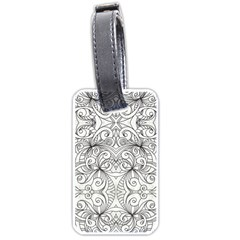 Drawing Floral Doodle 1 Luggage Tag (One Side)