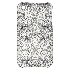 Drawing Floral Doodle 1 Apple iPhone 3G/3GS Hardshell Case