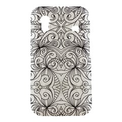 Drawing Floral Doodle 1 Samsung Galaxy Ace S5830 Hardshell Case