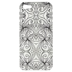Drawing Floral Doodle 1 Apple Iphone 5 Hardshell Case