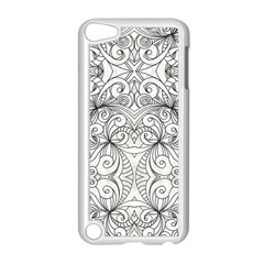 Drawing Floral Doodle 1 Apple iPod Touch 5 Case (White)
