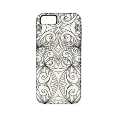 Drawing Floral Doodle 1 Apple iPhone 5 Classic Hardshell Case (PC+Silicone)