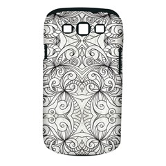 Drawing Floral Doodle 1 Samsung Galaxy S III Classic Hardshell Case (PC+Silicone)