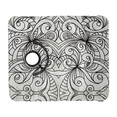 Drawing Floral Doodle 1 Samsung Galaxy S  III Flip 360 Case