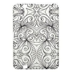 Drawing Floral Doodle 1 Kindle Fire HD 8.9  Hardshell Case