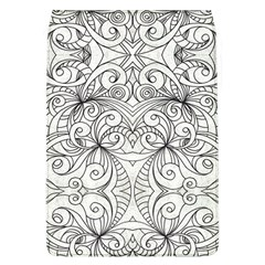 Drawing Floral Doodle 1 Removable Flap Cover (Large)