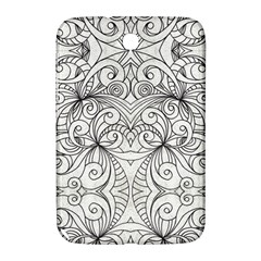 Drawing Floral Doodle 1 Samsung Galaxy Note 8.0 N5100 Hardshell Case