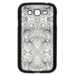 Drawing Floral Doodle 1 Samsung Galaxy Grand DUOS I9082 Case (Black)
