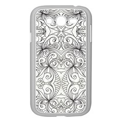 Drawing Floral Doodle 1 Samsung Galaxy Grand DUOS I9082 Case (White)