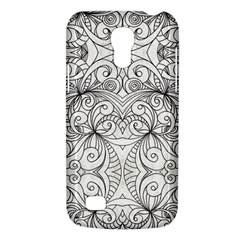 Drawing Floral Doodle 1 Samsung Galaxy S4 Mini (GT-I9190) Hardshell Case