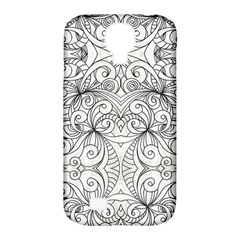 Drawing Floral Doodle 1 Samsung Galaxy S4 Classic Hardshell Case (pc+silicone)