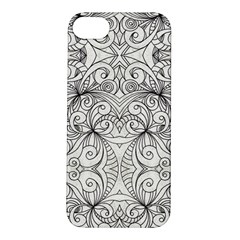 Drawing Floral Doodle 1 Apple Iphone 5s Hardshell Case