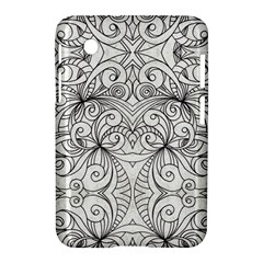 Drawing Floral Doodle 1 Samsung Galaxy Tab 2 (7 ) P3100 Hardshell Case