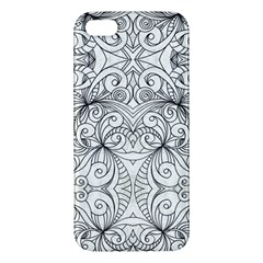 Drawing Floral Doodle 1 iPhone 5S Premium Hardshell Case