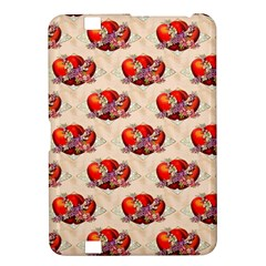 Vintage Valentine Hearts Kindle Fire HD 8.9  Hardshell Case
