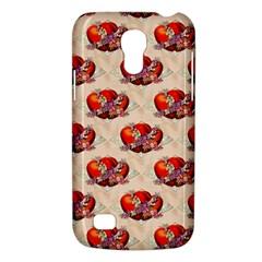 Vintage Valentine Hearts Samsung Galaxy S4 Mini (GT-I9190) Hardshell Case
