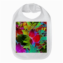 Floral Abstract 1 Bib