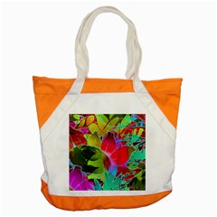 Floral Abstract 1 Accent Tote Bag