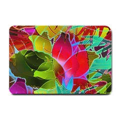 Floral Abstract 1 Small Door Mat