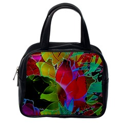 Floral Abstract 1 Classic Handbag (One Side)