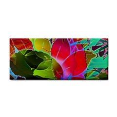 Floral Abstract 1 Hand Towel