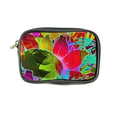 Floral Abstract 1 Coin Purse