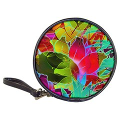 Floral Abstract 1 CD Wallet