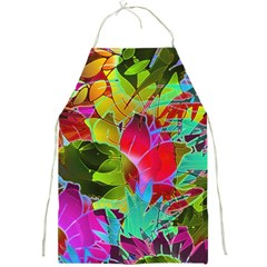 Floral Abstract 1 Apron