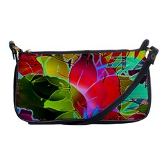 Floral Abstract 1 Evening Bag