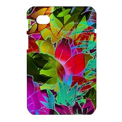 Floral Abstract 1 Samsung Galaxy Tab 7  P1000 Hardshell Case