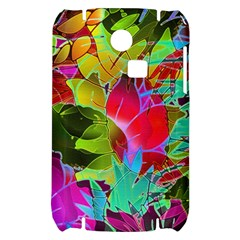 Floral Abstract 1 Samsung S3350 Hardshell Case