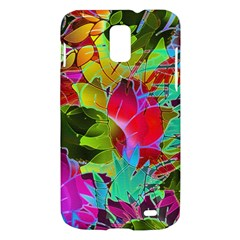 Floral Abstract 1 Samsung Galaxy S II Skyrocket Hardshell Case