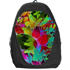Floral Abstract 1 Backpack Bag