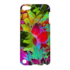 Floral Abstract 1 Apple Ipod Touch 5 Hardshell Case