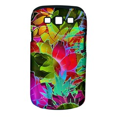 Floral Abstract 1 Samsung Galaxy S III Classic Hardshell Case (PC+Silicone)