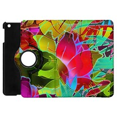 Floral Abstract 1 Apple iPad Mini Flip 360 Case