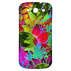 Floral Abstract 1 Samsung Galaxy S3 S III Classic Hardshell Back Case