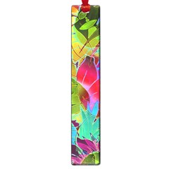 Floral Abstract 1 Large Bookmark