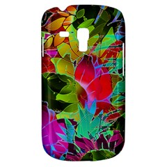 Floral Abstract 1 Samsung Galaxy S3 MINI I8190 Hardshell Case